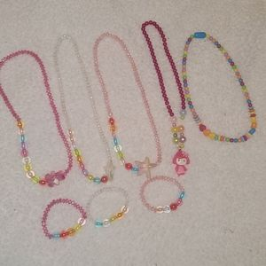 Childs Necklaces and Bracelets Bundle